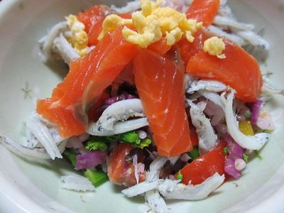 ひな祭りのちらし寿司 2016