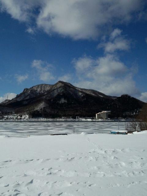 2016-01-22榛名湖氷結