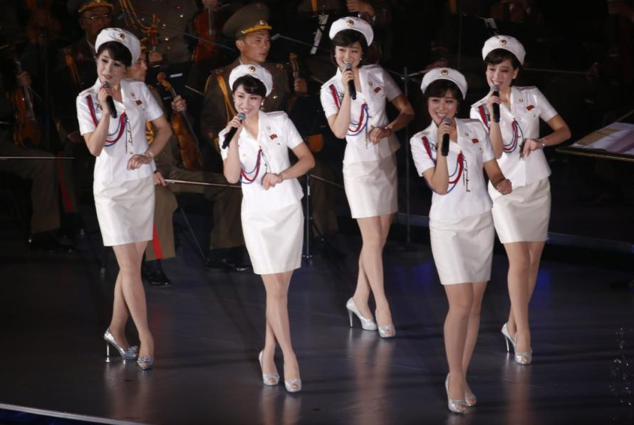 北朝鮮 モランボン