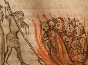 テンプル騎士団長の火刑