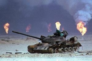 湾岸戦争、地上戦