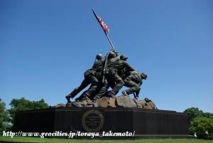 海兵隊硫黄島記念碑