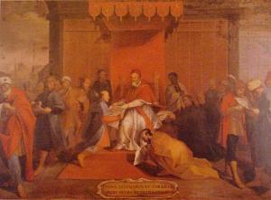 天正遣欧使節、教皇に謁見