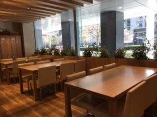 クリナップキッチンタウン東京テーブル席