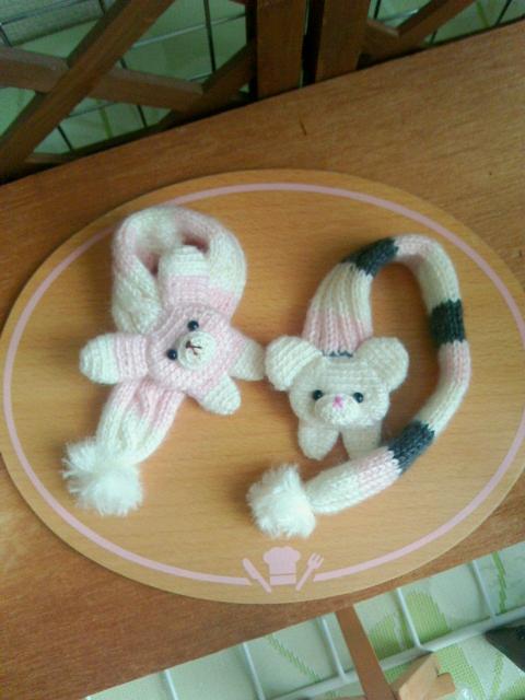 編みぐるみマフラー