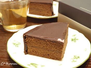 ケーキ(ザッハトルテ)3