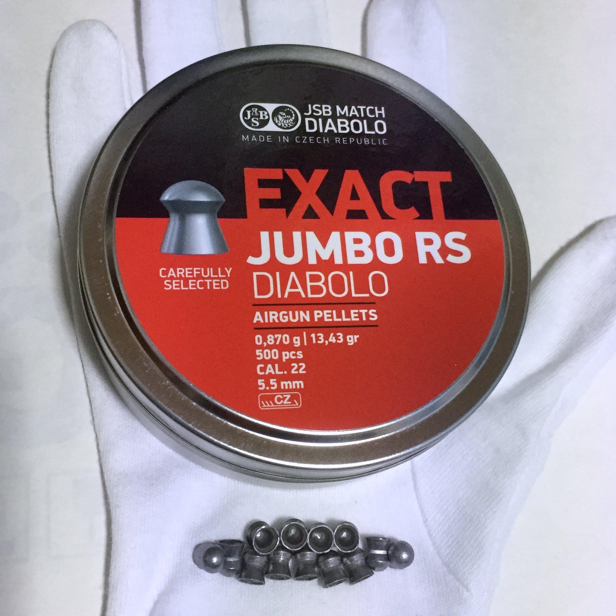 Exact Jumbo RS .22cal 13.43gr [2016年5月]