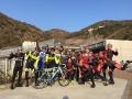 年末サイクリング集合写真