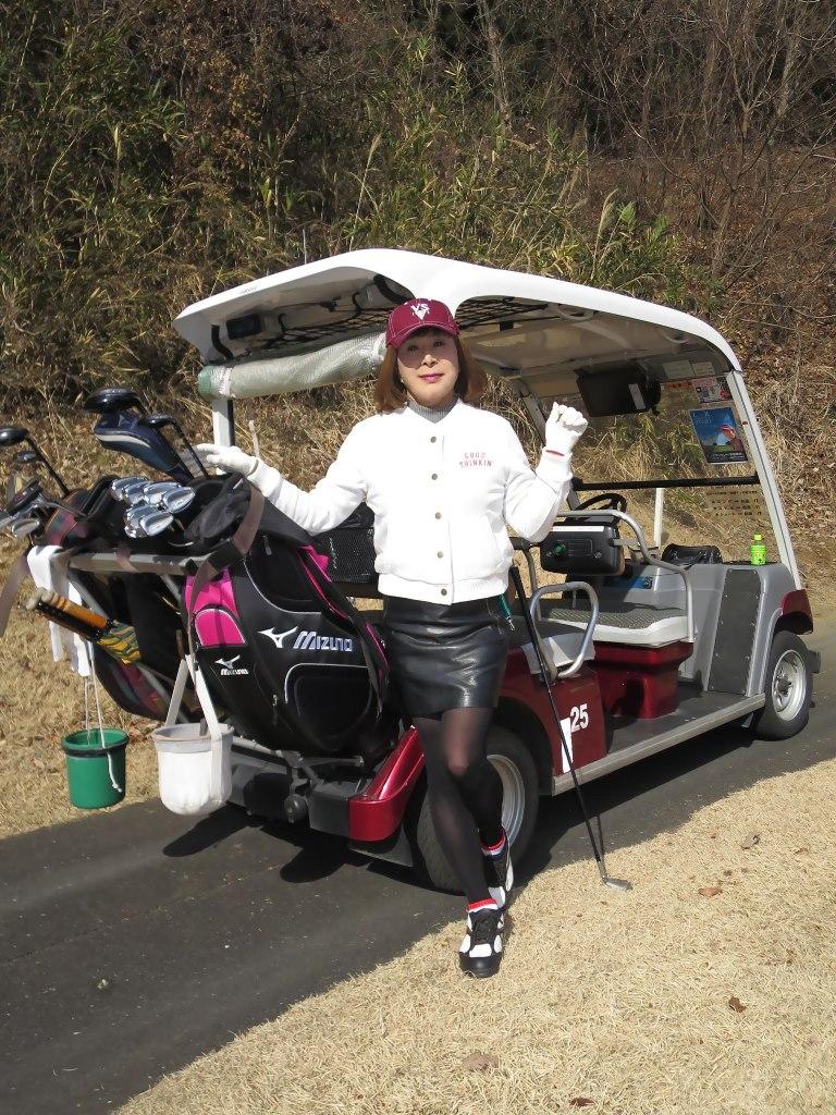 冬ゴルフ白ブルゾンA(4)