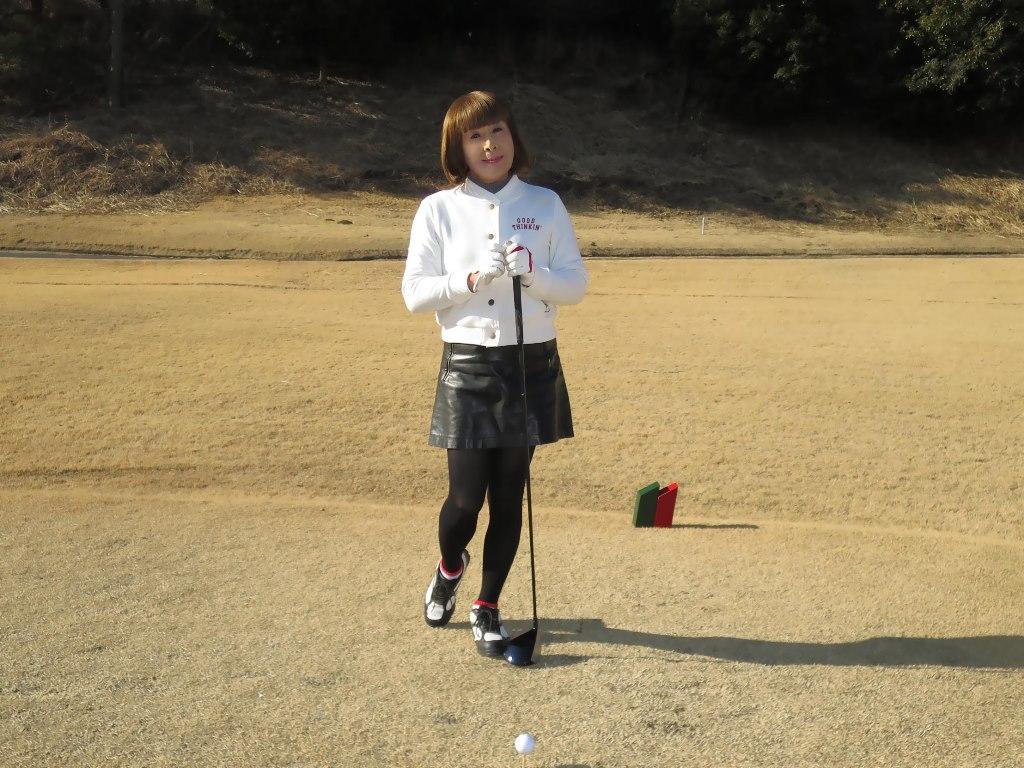 冬ゴルフ白ブルゾンB(7)