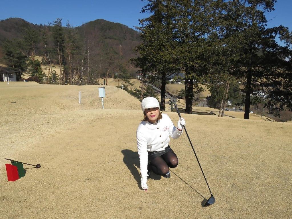 冬ゴルフ白ブルゾンC(7)