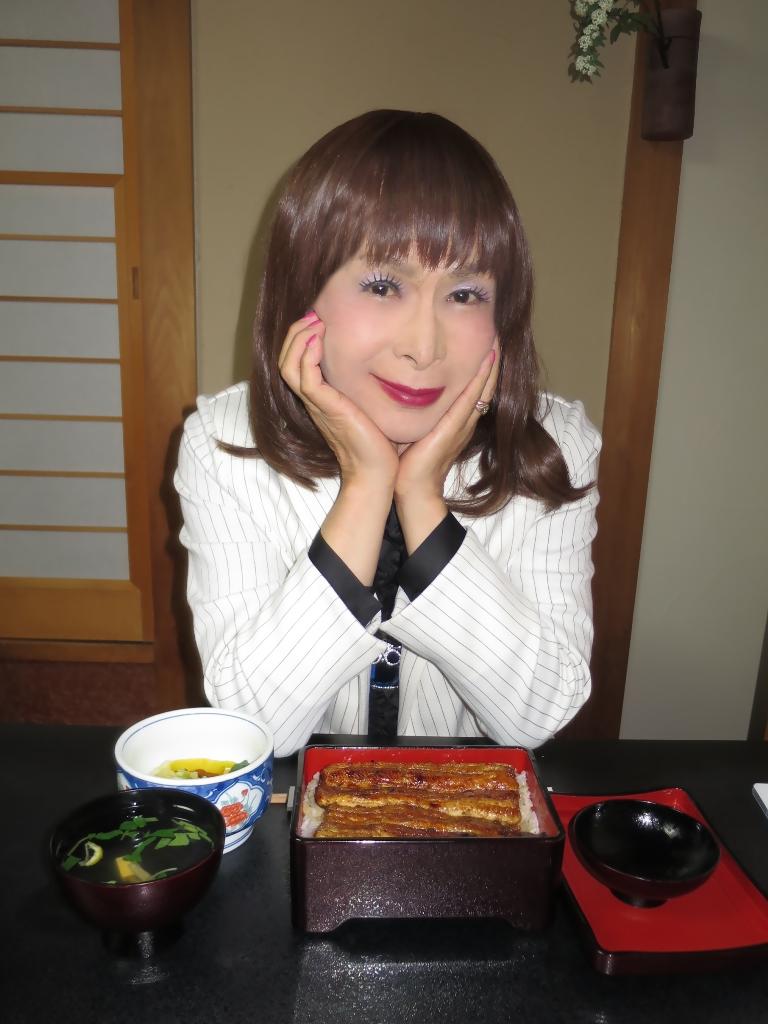 ●夕食特上うな重(1)