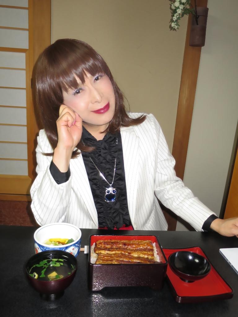 ●夕食特上うな重(2)