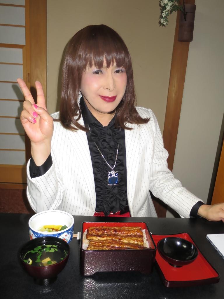 ●夕食特上うな重(3)