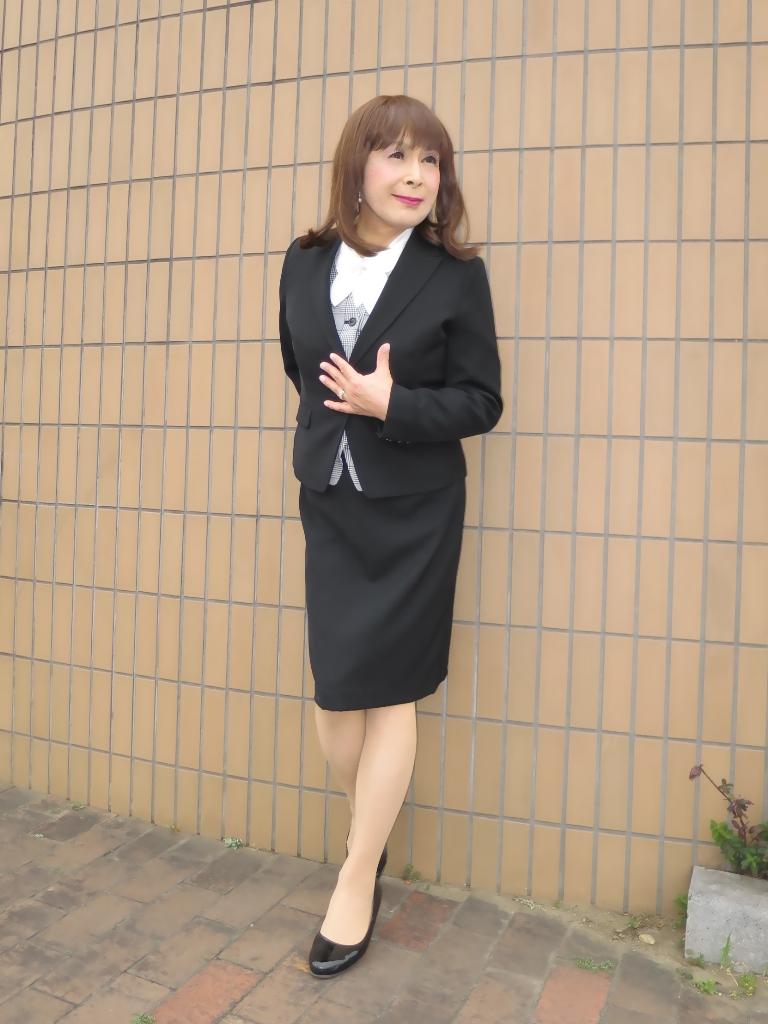 OL黒スーツ (6)