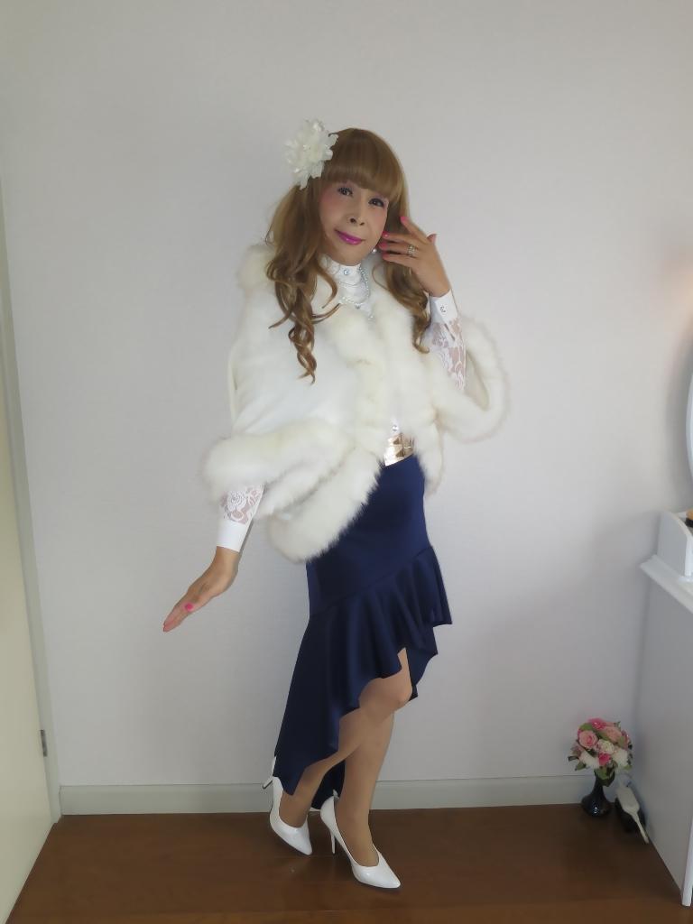 白ケープ青マーメイド(2)