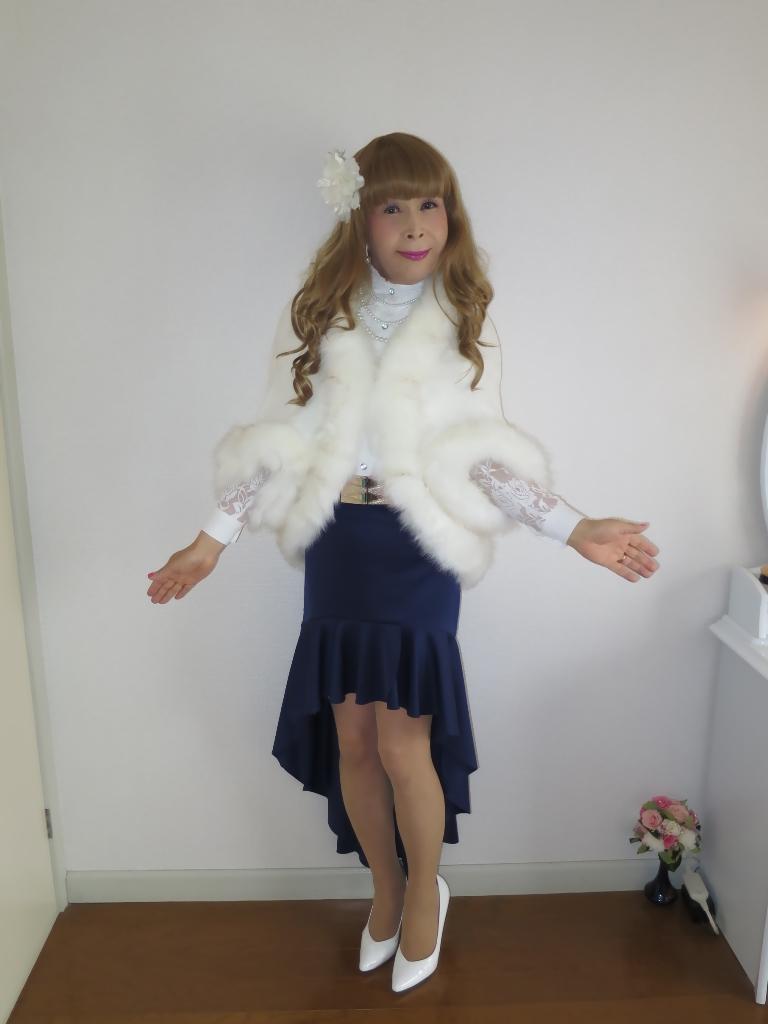 白ケープ青マーメイド(3)