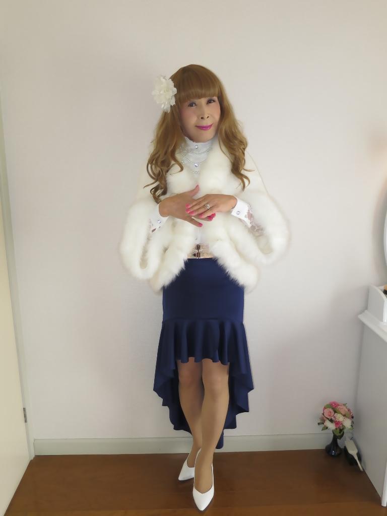 白ケープ青マーメイド(4)