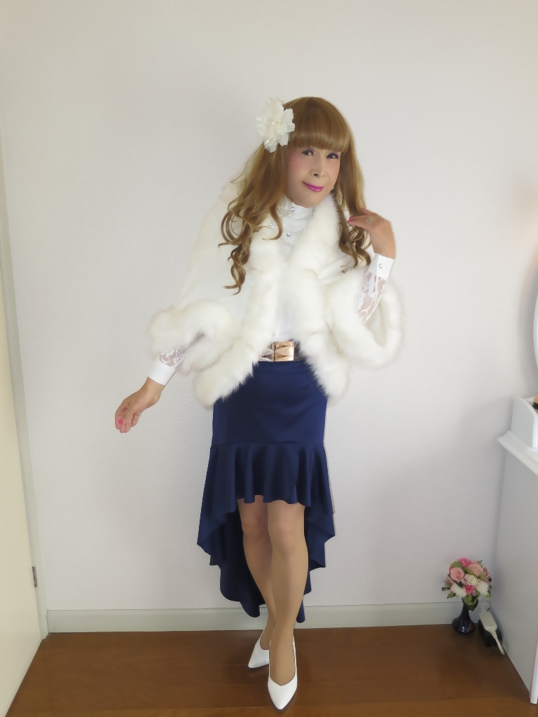 白ケープ青マーメイド(5)