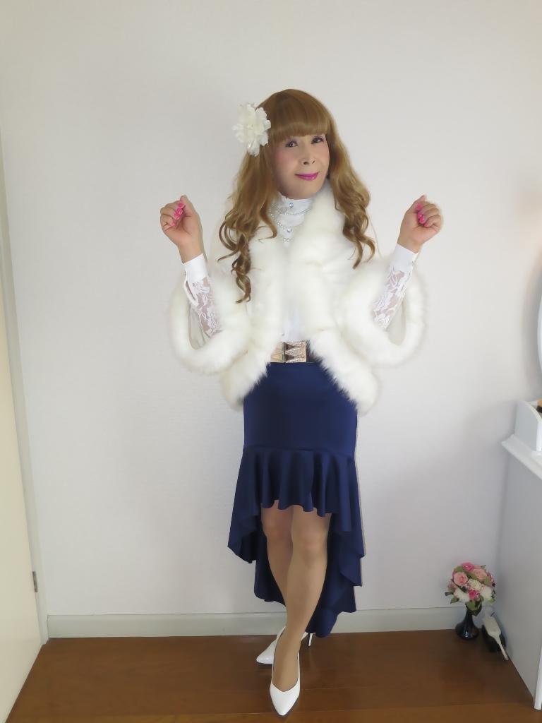 白ケープ青マーメイド(6)