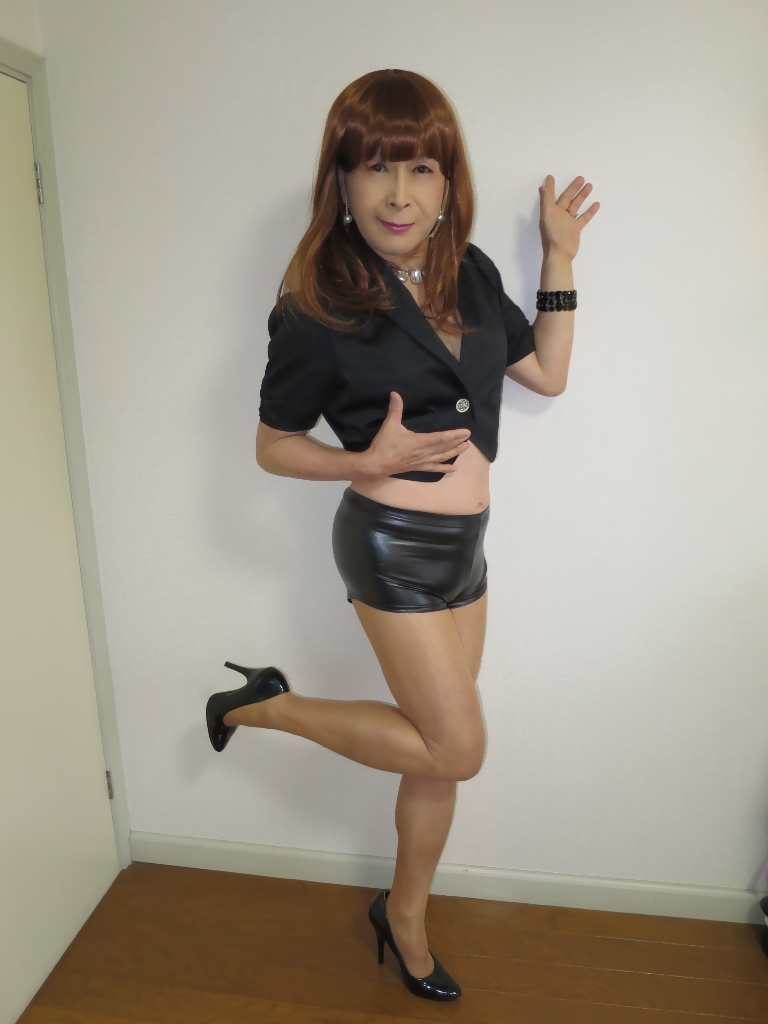 黒ショーパン紺ジャケットA(5)