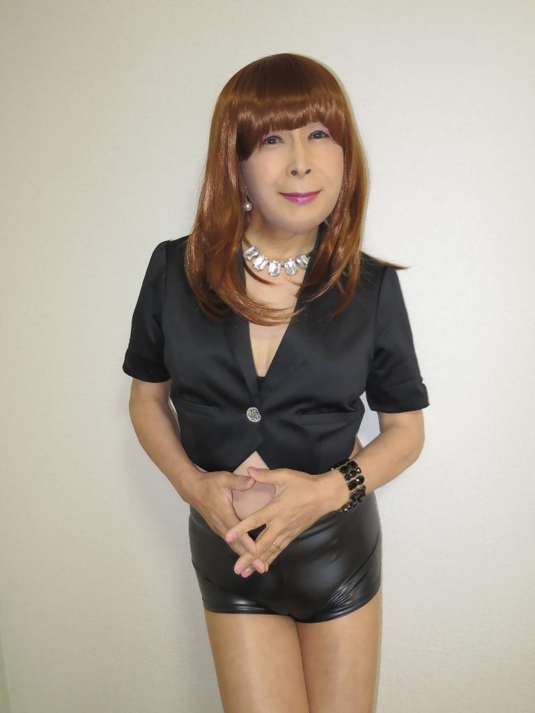 黒ショーパン紺ジャケットB(6)