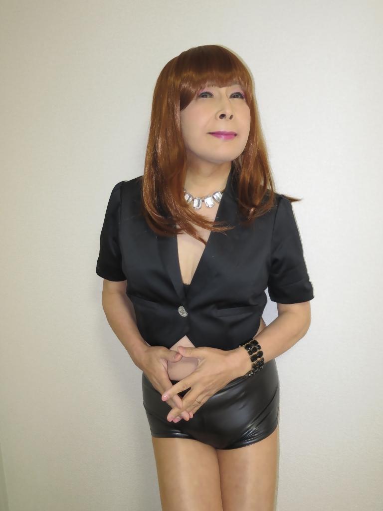 黒ショーパン紺ジャケットB(7)