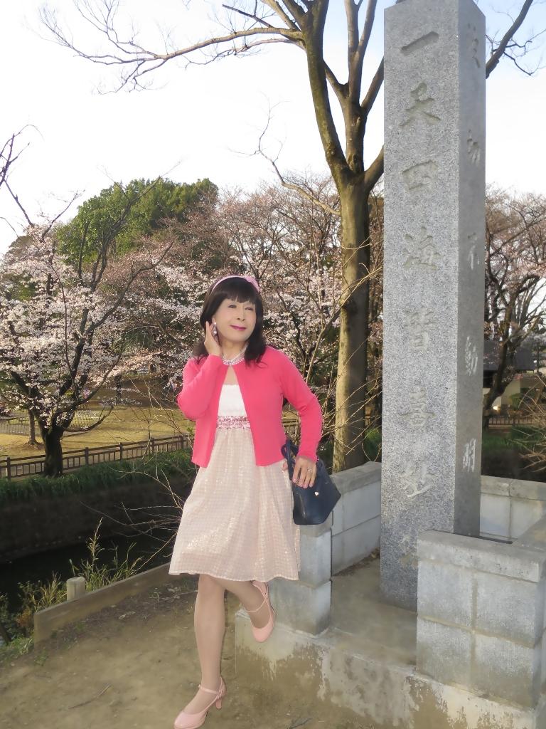 ワンピとピンクカーデC(1)