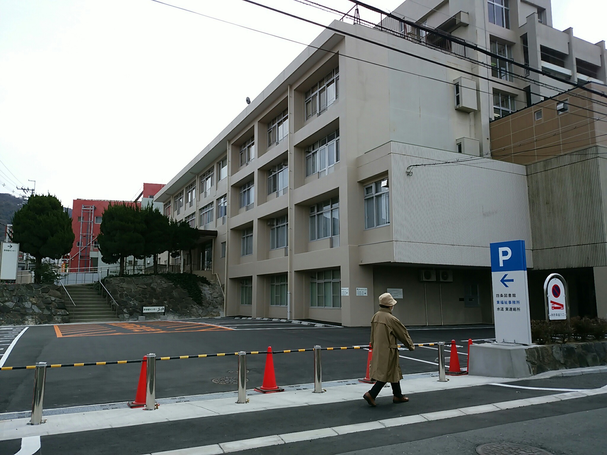 東部地域仮設庁舎の完成(平成28年3月)|河内瓢箪山百景