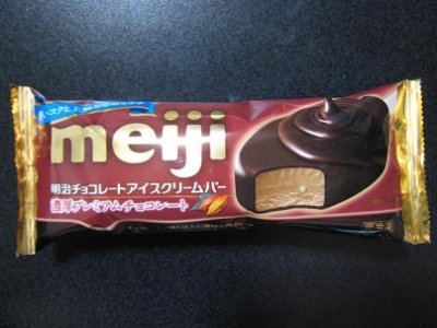 チョコレートアイスクリームバー濃厚プレミアムチョコレート