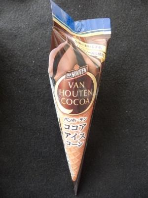 バンホーテンココアアイス
