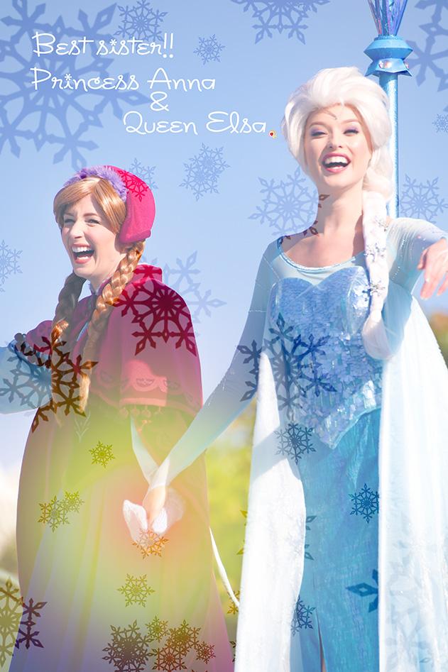 最高の姉妹、アナ&エルサ*ストーリーズ1