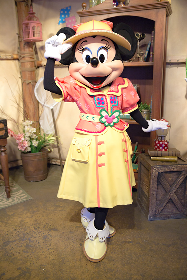 Mickey & Friends Greeting Trail /Minnie Mouse1
