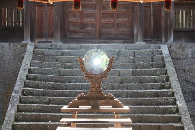 揖夜神社和鏡