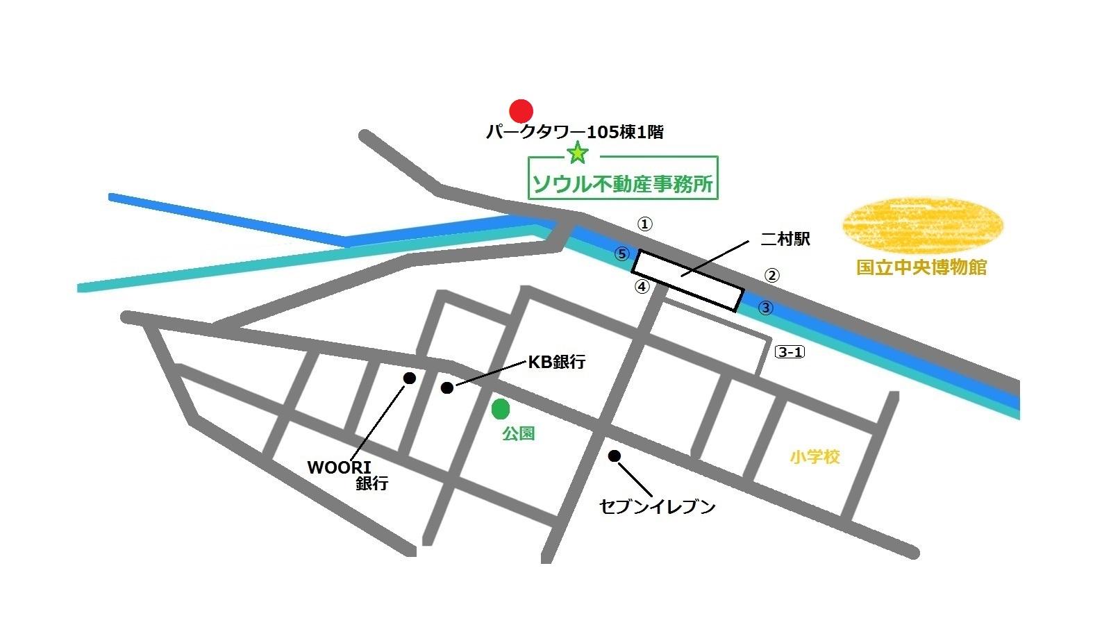 楊師傅 地図