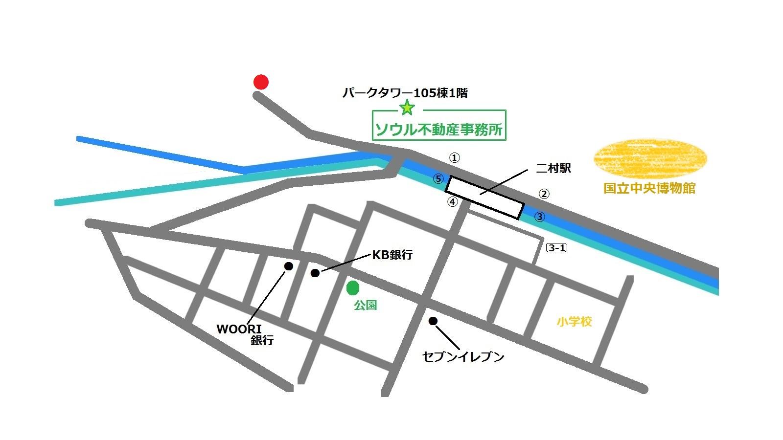 ハムギョン ミョンオク 함경면옥 地図