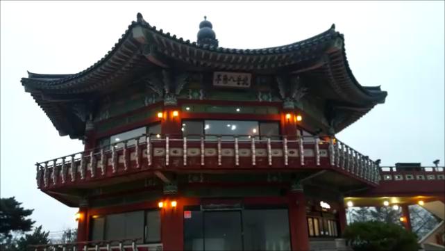 韓国 北岳八角亭