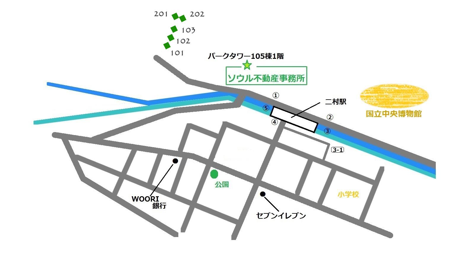 シティパーク 地図