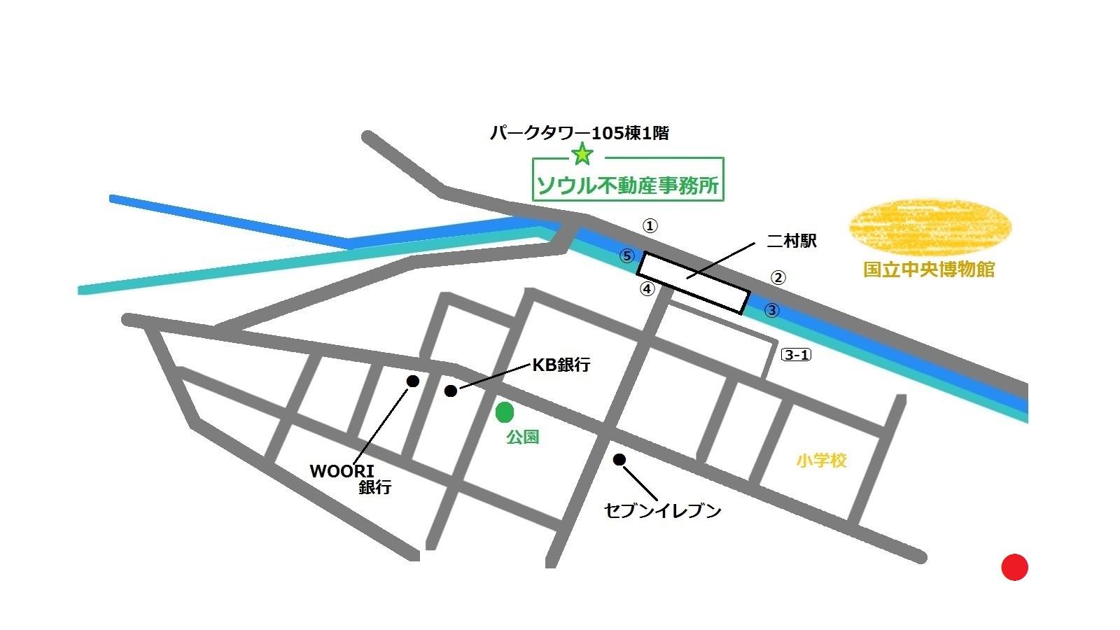 東氷庫 トンビンゴ 동빙고 地図