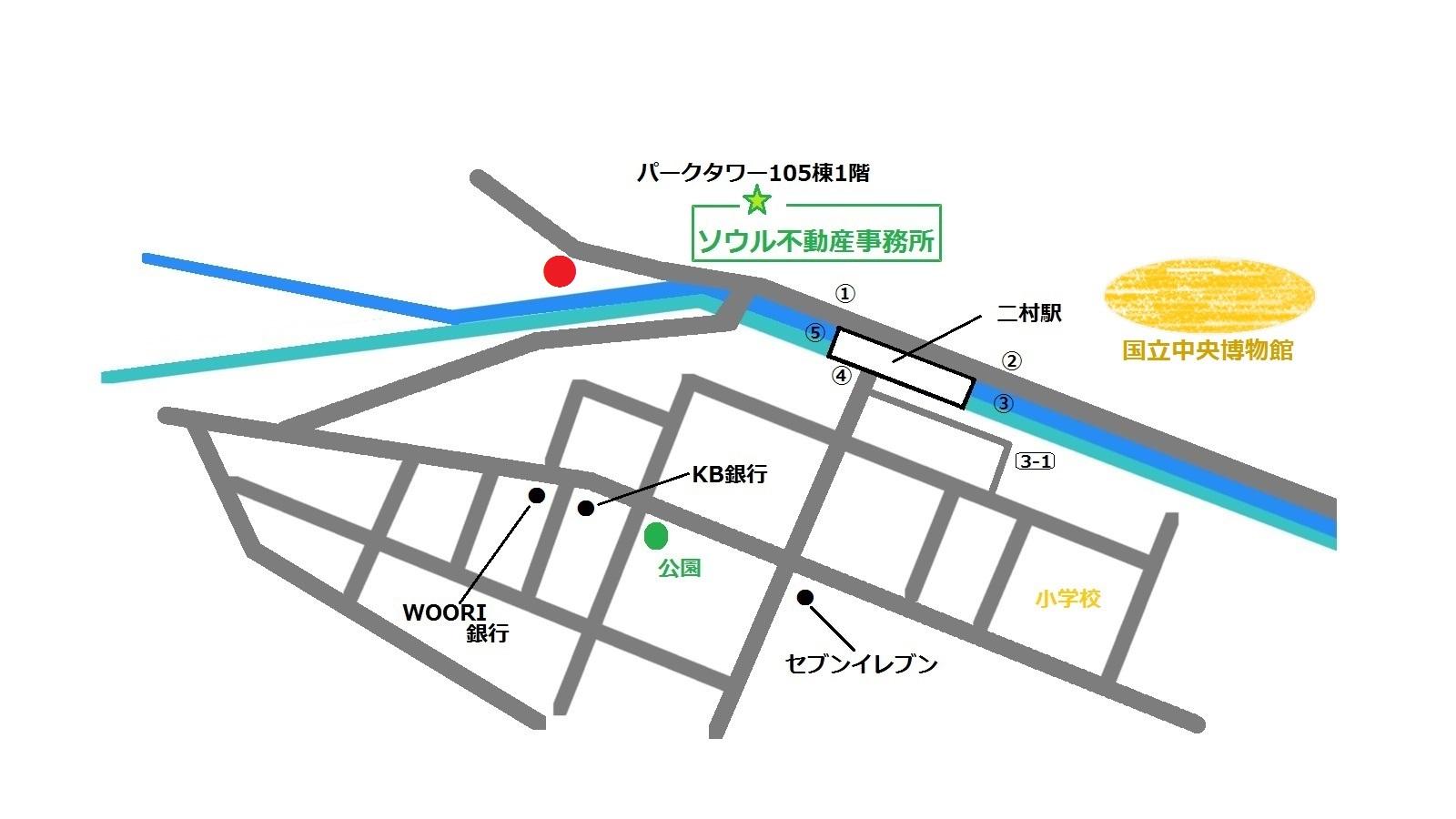 LEGOディスカウントショップ 地図