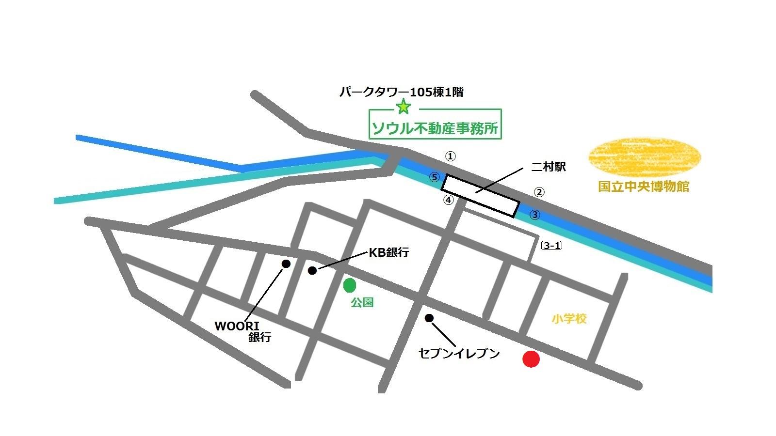 二村 クリアート 地図