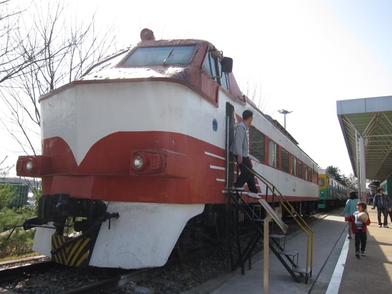 韓国 鉄道博物館