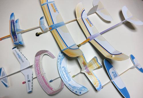 今年、商品化の飛行機たち。