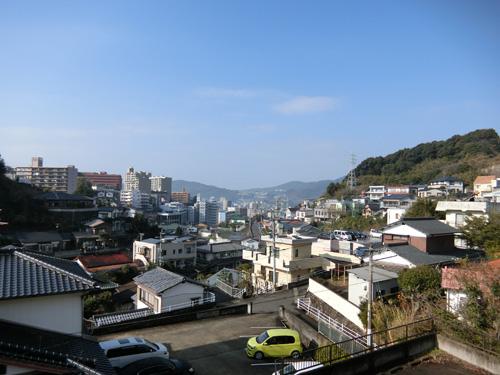 元日の長崎もヨカ天気ね。