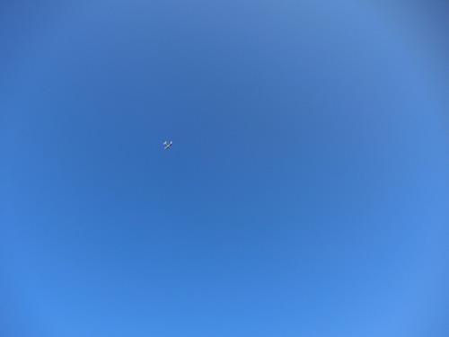 飛行中の写真はコレと・・・、