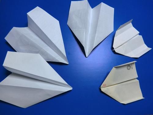 折り紙飛行機ね。