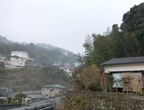 午後からは、風と雪が既に。