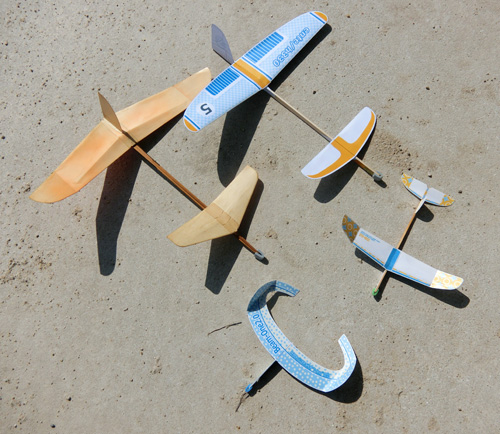 今日のメインは先尾翼ハンド2機。