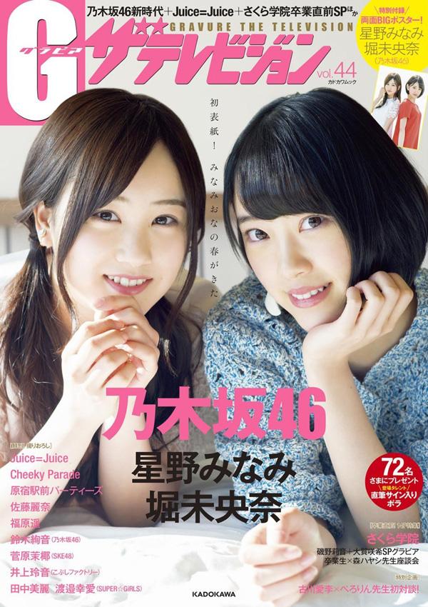 G(グラビア)ザテレビジョン vol.44