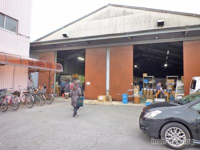 営業所倉庫の外観